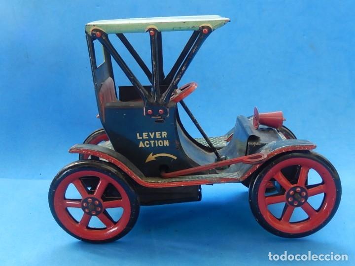 Juguetes antiguos de hojalata: Coche. Modern Toys. Fabricado en Japón. Japan. - Foto 6 - 172414849