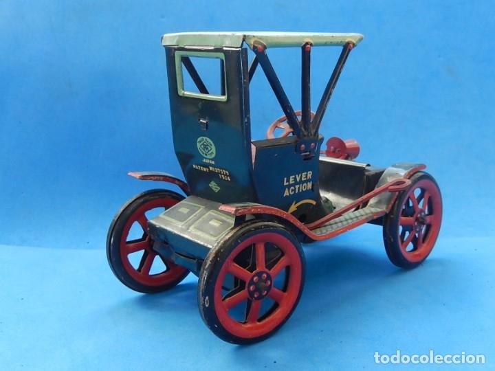 Juguetes antiguos de hojalata: Coche. Modern Toys. Fabricado en Japón. Japan. - Foto 7 - 172414849