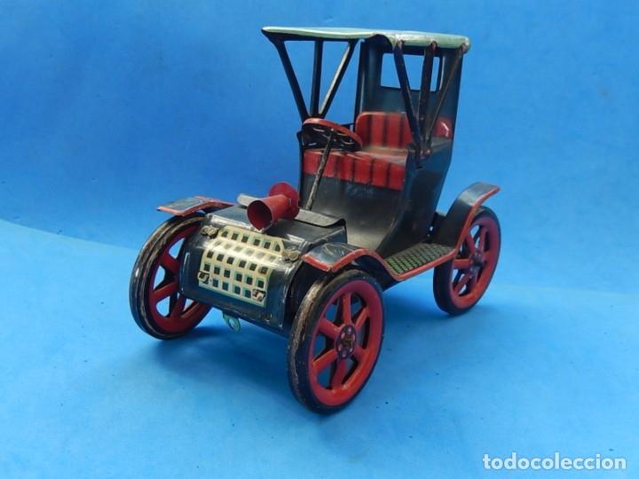 Juguetes antiguos de hojalata: Coche. Modern Toys. Fabricado en Japón. Japan. - Foto 10 - 172414849