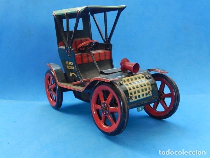 Juguetes antiguos de hojalata: Coche. Modern Toys. Fabricado en Japón. Japan. - Foto 11 - 172414849