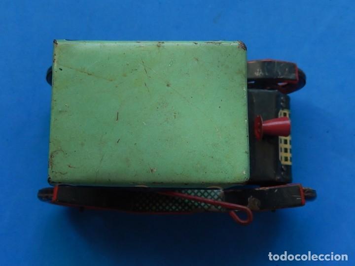 Juguetes antiguos de hojalata: Coche. Modern Toys. Fabricado en Japón. Japan. - Foto 13 - 172414849