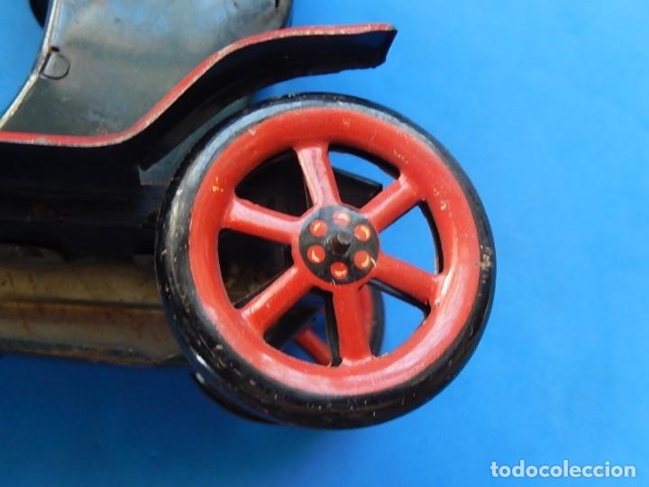 Juguetes antiguos de hojalata: Coche. Modern Toys. Fabricado en Japón. Japan. - Foto 19 - 172414849