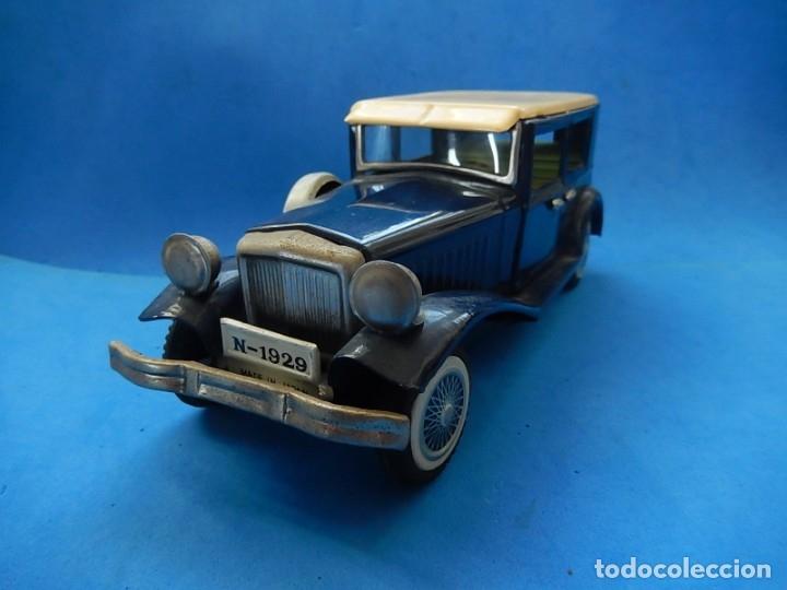 Juguetes antiguos de hojalata: Coche. ¿Mercedes Benz 460 Pullman? N - 1929. - Foto 2 - 172416738
