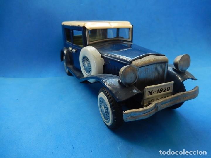 Juguetes antiguos de hojalata: Coche. ¿Mercedes Benz 460 Pullman? N - 1929. - Foto 3 - 172416738