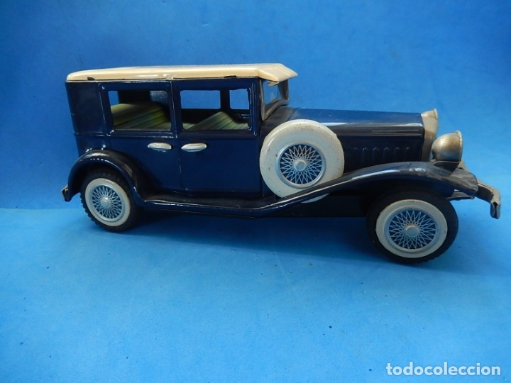 Juguetes antiguos de hojalata: Coche. ¿Mercedes Benz 460 Pullman? N - 1929. - Foto 4 - 172416738