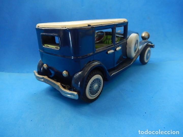 Juguetes antiguos de hojalata: Coche. ¿Mercedes Benz 460 Pullman? N - 1929. - Foto 5 - 172416738