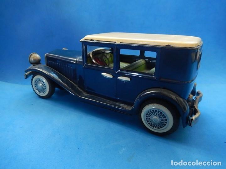 Juguetes antiguos de hojalata: Coche. ¿Mercedes Benz 460 Pullman? N - 1929. - Foto 7 - 172416738