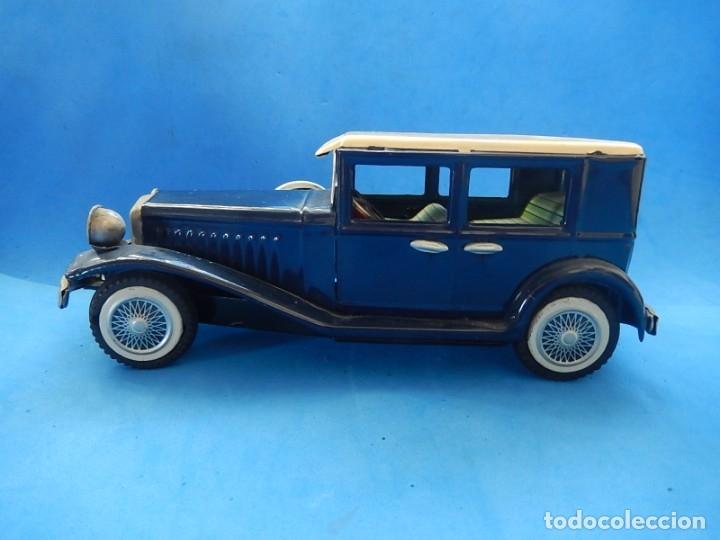 Juguetes antiguos de hojalata: Coche. ¿Mercedes Benz 460 Pullman? N - 1929. - Foto 8 - 172416738