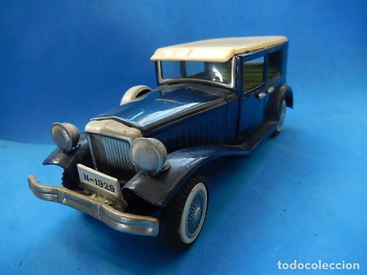 Juguetes antiguos de hojalata: Coche. ¿Mercedes Benz 460 Pullman? N - 1929. - Foto 9 - 172416738