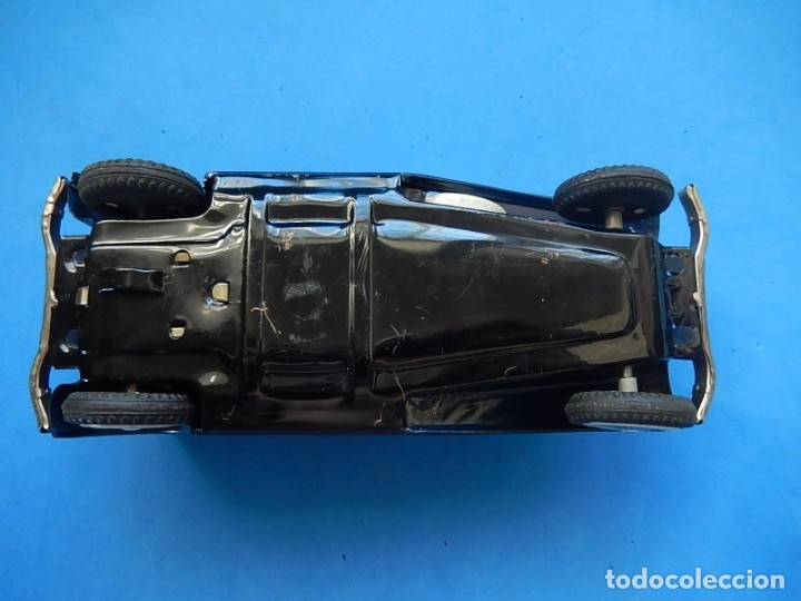 Juguetes antiguos de hojalata: Coche. ¿Mercedes Benz 460 Pullman? N - 1929. - Foto 12 - 172416738