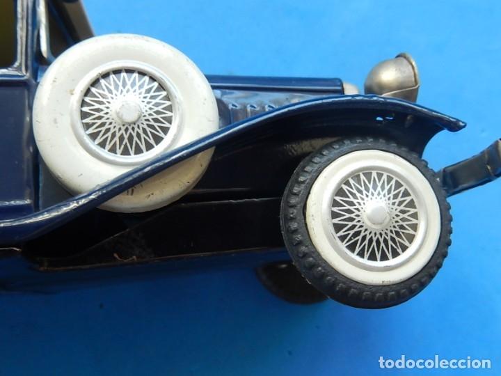 Juguetes antiguos de hojalata: Coche. ¿Mercedes Benz 460 Pullman? N - 1929. - Foto 13 - 172416738
