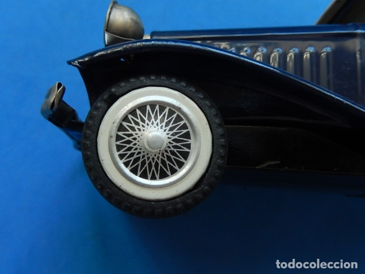 Juguetes antiguos de hojalata: Coche. ¿Mercedes Benz 460 Pullman? N - 1929. - Foto 14 - 172416738