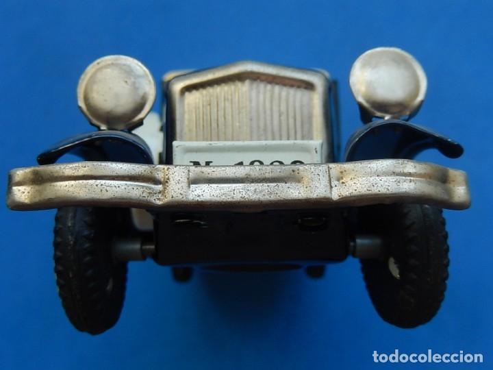 Juguetes antiguos de hojalata: Coche. ¿Mercedes Benz 460 Pullman? N - 1929. - Foto 16 - 172416738