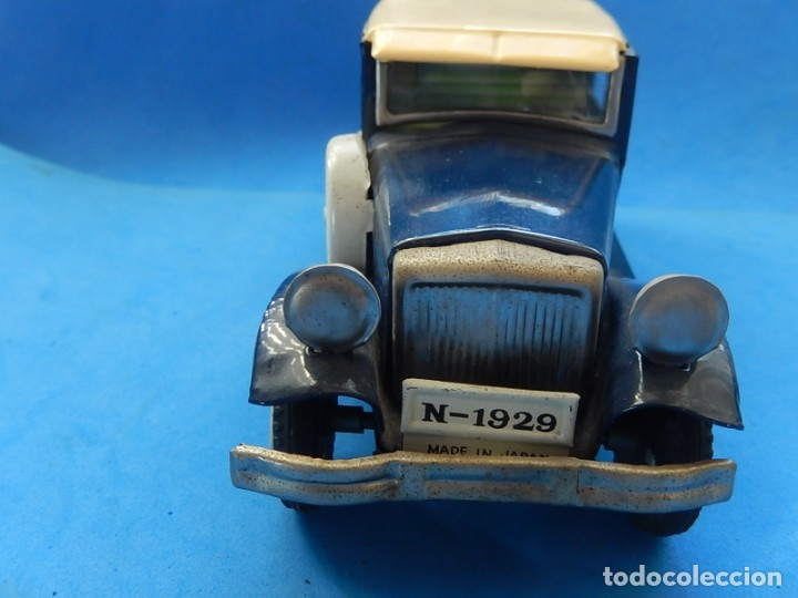 Juguetes antiguos de hojalata: Coche. ¿Mercedes Benz 460 Pullman? N - 1929. - Foto 17 - 172416738