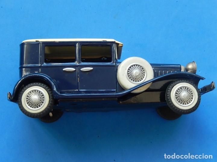 Juguetes antiguos de hojalata: Coche. ¿Mercedes Benz 460 Pullman? N - 1929. - Foto 20 - 172416738