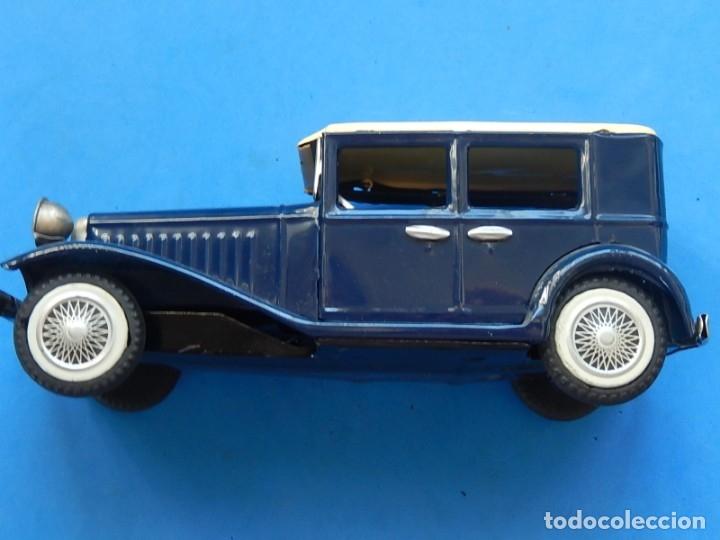 Juguetes antiguos de hojalata: Coche. ¿Mercedes Benz 460 Pullman? N - 1929. - Foto 21 - 172416738