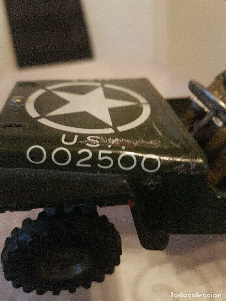 Juguetes antiguos de hojalata: antiguo coche hojalata Arnold Militär Jeep Made in Western Germany 17 cm. 980,00 € - Foto 5 - 172630759