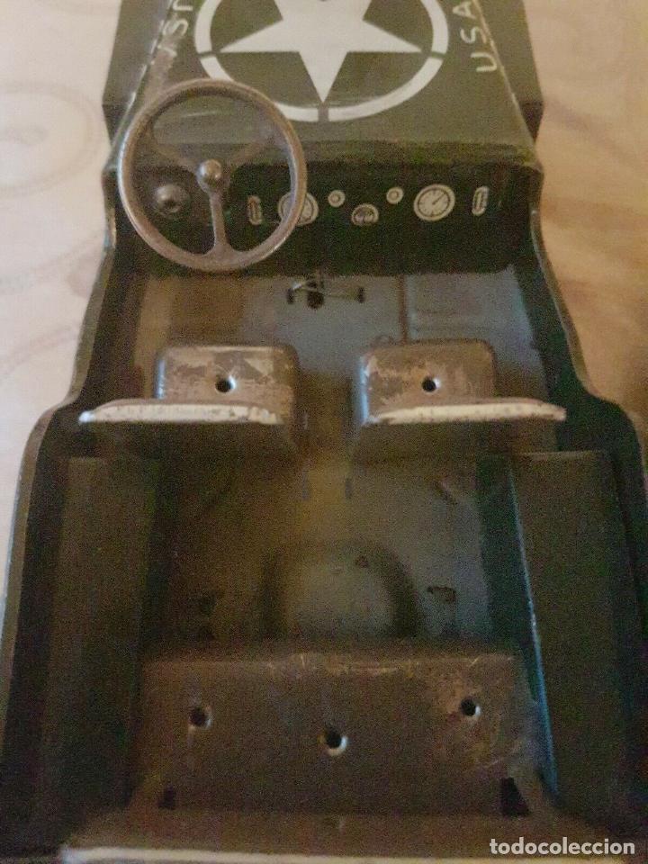Juguetes antiguos de hojalata: antiguo coche hojalata Arnold Militär Jeep Made in Western Germany 17 cm. 980,00 € - Foto 10 - 172630759