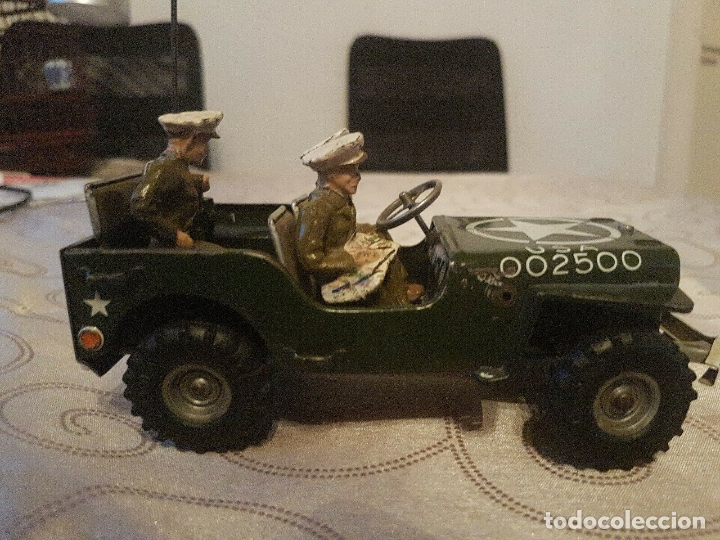 ANTIGUO COCHE HOJALATA ARNOLD MILITÄR JEEP MADE IN WESTERN GERMANY 17 CM. 980,00 € (Juguetes - Juguetes Antiguos de Hojalata Extranjeros)