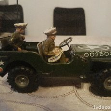 Juguetes antiguos de hojalata: ANTIGUO COCHE HOJALATA ARNOLD MILITÄR JEEP MADE IN WESTERN GERMANY 17 CM. 980,00 €. Lote 172630759