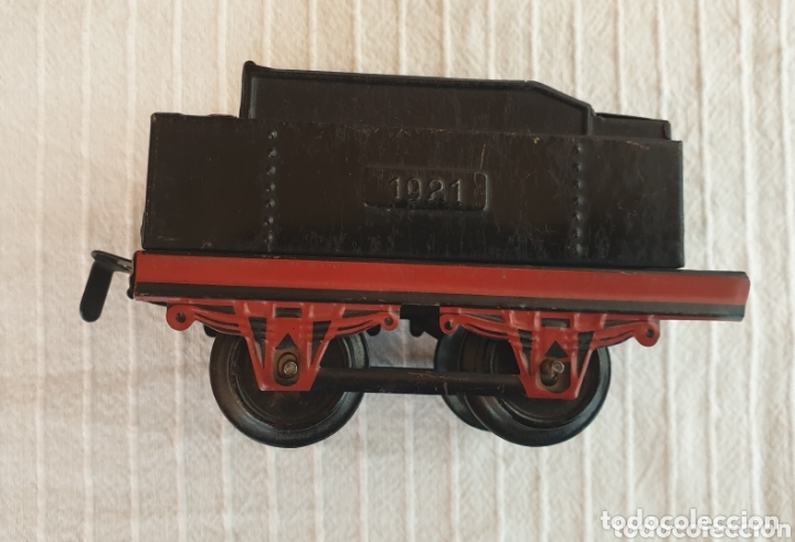Juguetes antiguos de hojalata: Antiguo tren distler hojalata cuerda - Foto 7 - 173001999
