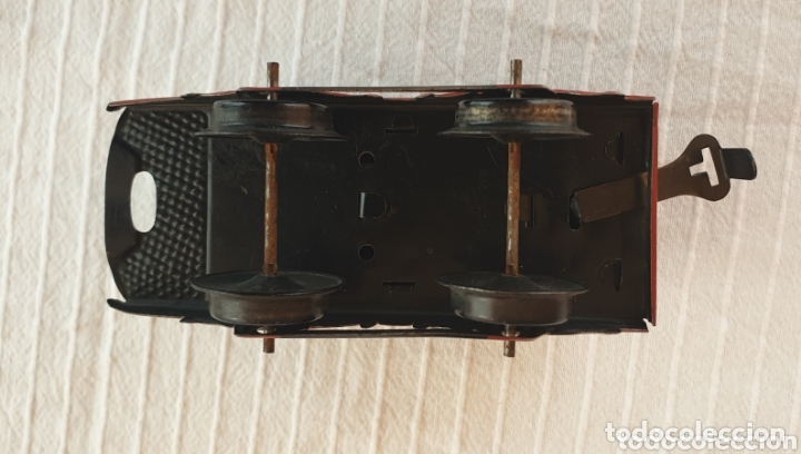 Juguetes antiguos de hojalata: Antiguo tren distler hojalata cuerda - Foto 8 - 173001999