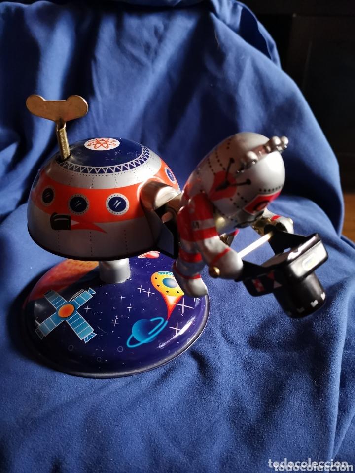 BASE LUNAR MARS-10,DE HOJALATA (Juguetes - Juguetes Antiguos de Hojalata Extranjeros)