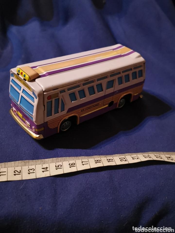 Juguetes antiguos de hojalata: Autobús de hojalata - Foto 2 - 173675225