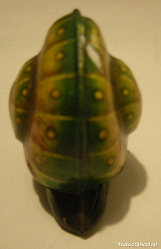 Juguetes antiguos de hojalata: CARACOL DE HOJALATA MADE IN WESTERN GERMANY NOLI Nº 915 LEHMANN D. PATENT LE FALTAN LAS ANTENAS - Foto 4 - 174104035