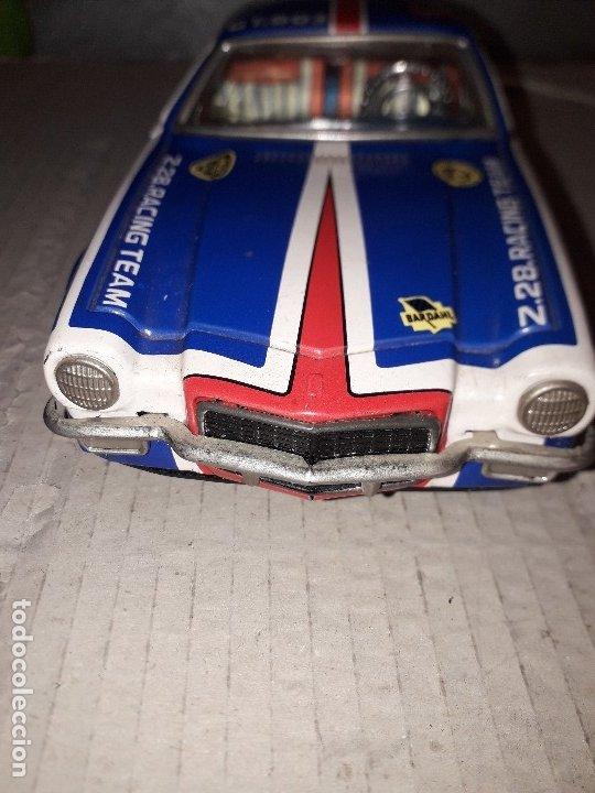 Juguetes antiguos de hojalata: Chevrolet camaro Taiyo, Made in Japan, funcionando - Foto 3 - 174317639