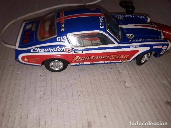 Juguetes antiguos de hojalata: Chevrolet camaro Taiyo, Made in Japan, funcionando - Foto 4 - 174317639