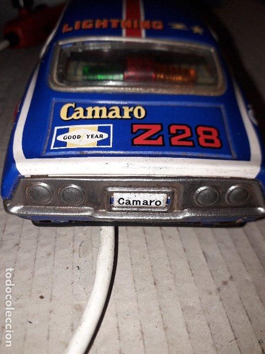 Juguetes antiguos de hojalata: Chevrolet camaro Taiyo, Made in Japan, funcionando - Foto 5 - 174317639