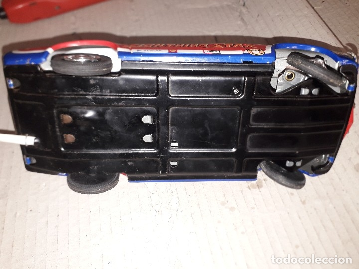 Juguetes antiguos de hojalata: Chevrolet camaro Taiyo, Made in Japan, funcionando - Foto 7 - 174317639