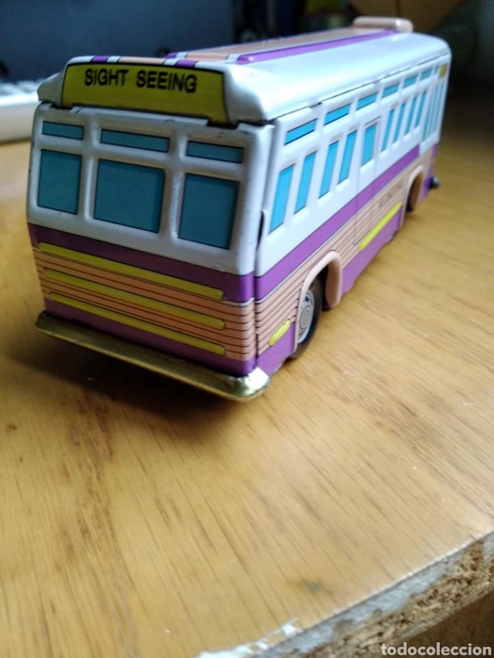 Juguetes antiguos de hojalata: Autobús de hojalata - Foto 3 - 175320084