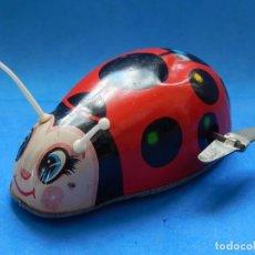 Brinquedos antigos de folha-de-Flandres: MARIQUITA DE HOJALATA. FABRICADA EN JAPÓN. HIRO.. Lote 175506213