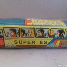 Juguetes antiguos de hojalata: AUTOBÚS BUS SUPER ES. Lote 175522417