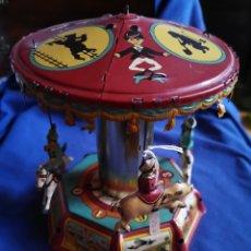Juguetes antiguos de hojalata: CARRUSEL DE PAYA, EDICIÓN LIMITADA NUMERADA Y CERTIFICADA. Lote 176209449