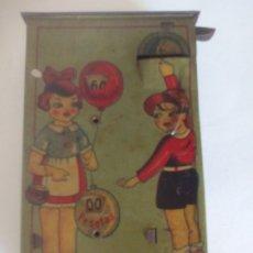 Juguetes antiguos de hojalata: RICO HUCHA DE LATA AÑOS 20_30. Lote 176272628