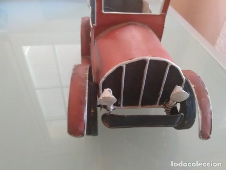Juguetes antiguos de hojalata: Coche Chevrolet 1927 - Foto 7 - 176629902