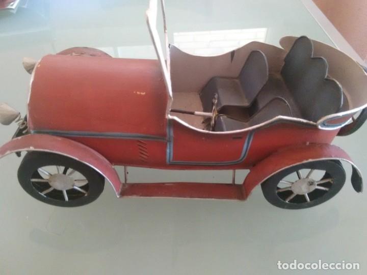 Juguetes antiguos de hojalata: Coche Chevrolet 1927 - Foto 9 - 176629902