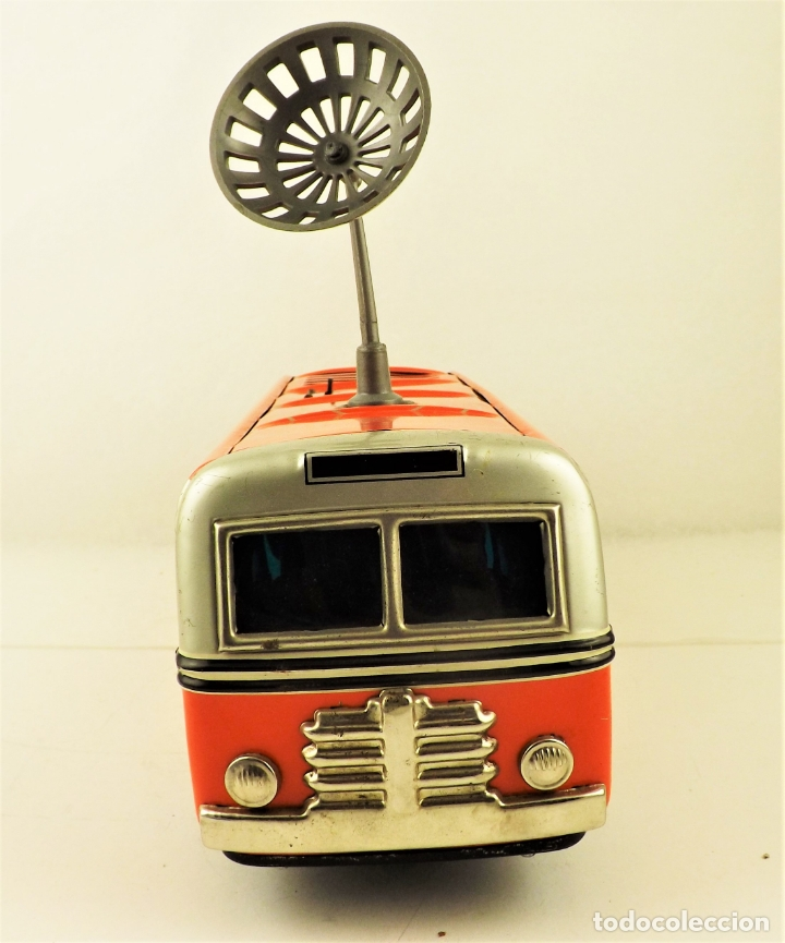 Juguetes antiguos de hojalata: Bus Sonicon Masudaya original - Foto 4 - 176778883