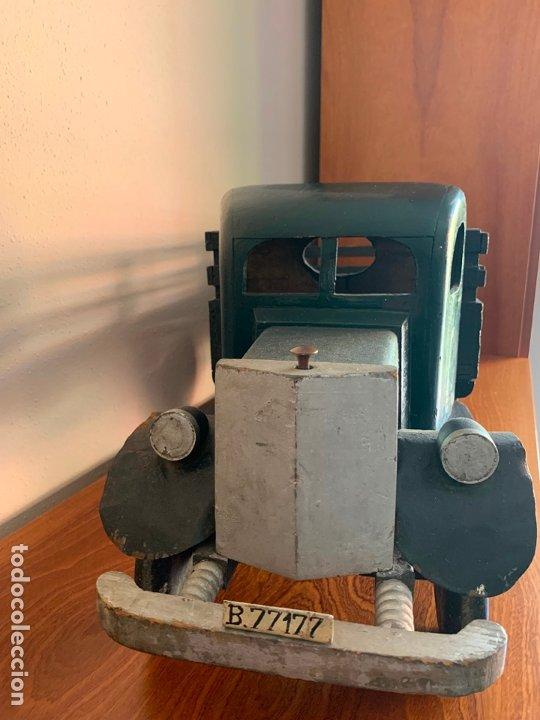 Juguetes antiguos de hojalata: CAMION MERCEDES L-6600 DE 1949 86 CMS MADERA DENIA BARCELONA - Foto 4 - 178111732