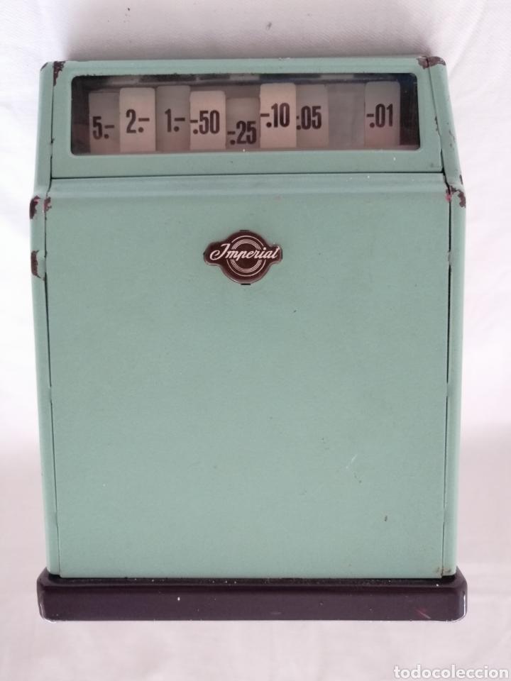 Juguetes antiguos de hojalata: Caja Registradora Hojalata Made in Germany. - Foto 3 - 178878090