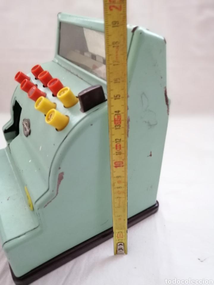 Juguetes antiguos de hojalata: Caja Registradora Hojalata Made in Germany. - Foto 5 - 178878090