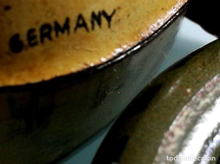 Juguetes antiguos de hojalata: Antigua moto alemana a cuerda CKO KELLERMANN, SOCIUS 353. Buen estado. Funcionamiento perfecto. - Foto 11 - 180251175