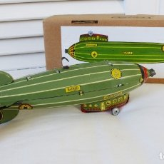Juguetes antiguos de hojalata: PAYA ZEPPELIN HOJALATA. Lote 180322507