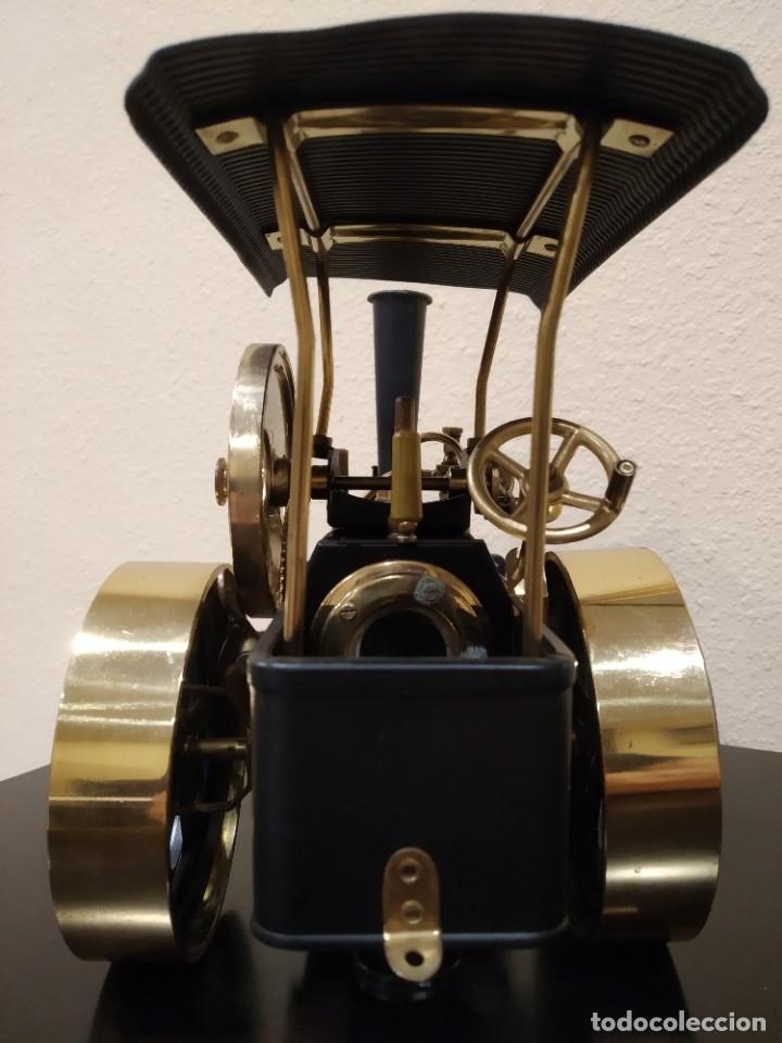 Juguetes antiguos de hojalata: APISONADORA A VAPOR OLD SMOKY D366 + CARRO REMOLQUE DE AGUA A386 -WILESCO- - Foto 11 - 181006782