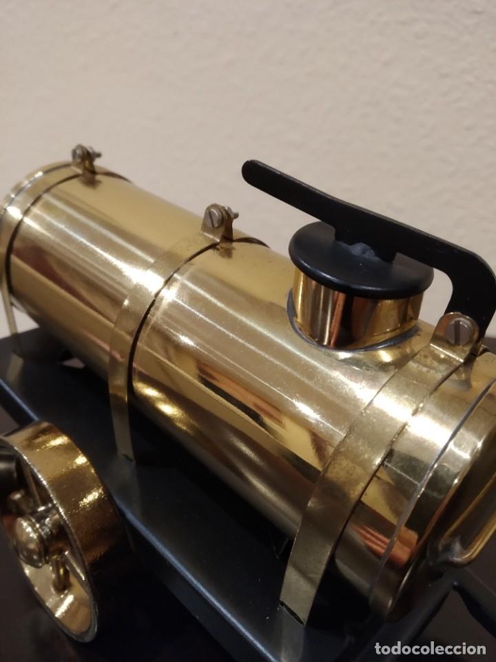 Juguetes antiguos de hojalata: APISONADORA A VAPOR OLD SMOKY D366 + CARRO REMOLQUE DE AGUA A386 -WILESCO- - Foto 18 - 181006782