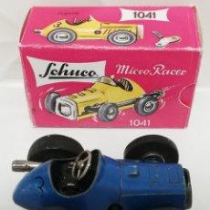 Juguetes antiguos de hojalata: SCHUCO MICRO RACER 1041. Lote 181438528
