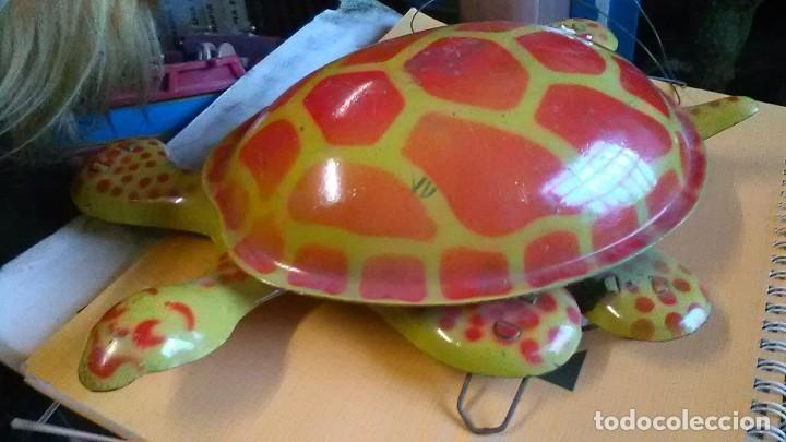 TORTUGA (Juguetes - Juguetes Antiguos de Hojalata Extranjeros)